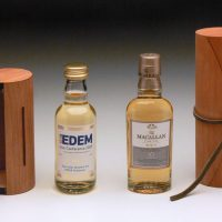 Natural Wood Range :: Further examples of the flexibility of this unique natural wood product. Also available using Scottish Beech Wood. All our wood packaging is sourced from sustainable forests.
